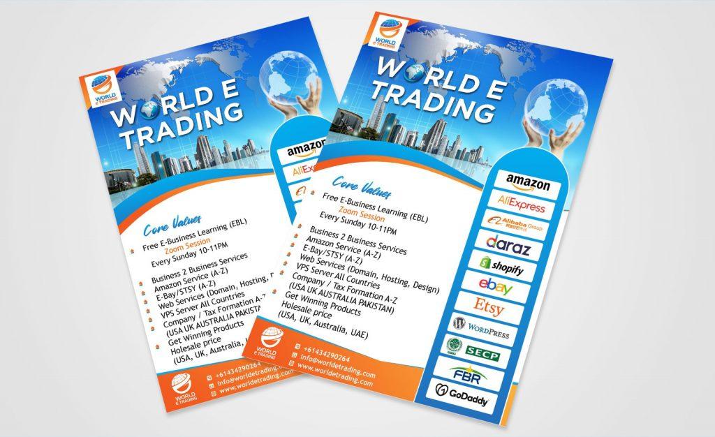 World e trading flyer
